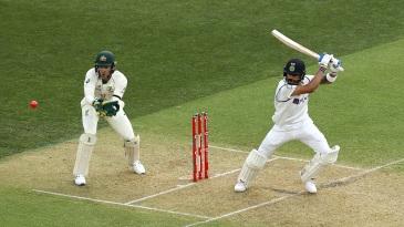 Virat Kohli plays one on the off side