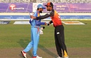 Mohammad Mithun and Mahmudullah exchange smiles at the toss