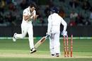Pat Cummins celebrates Prithvi Shaw's wicket, Australia vs India, 1st Test, Adelaide, 2nd day, December 18, 2020