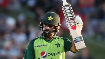 Mohammad Hafeez finished on an unbeaten 99 off 57 balls
