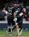 Tim Seifert and Kane Williamson added 129 runs for the unbroken second-wicket stand, New Zealand vs Pakistan, 2nd T20I, Hamilton, December 20, 2020