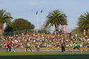 Crowds at the cricket: Fans watch proceedings at McLean Park, Napier, New Zealand vs Pakistan, 3rd T20I, Napier, December 22, 2020