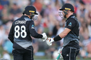 Devon Conway and Glenn Phillips strung together a 51-run stand, New Zealand vs Pakistan, 3rd T20I, Napier, December 22, 2020
