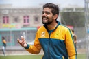 Babar Azam is all smiles during training, New Zealand vs Pakistan, Auckland, December 17, 2020