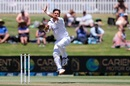 Yasir Shah runs in to bowl, New Zealand vs Pakistan, 1st Test, Mount Maunganui, 2nd day, December 27, 2020