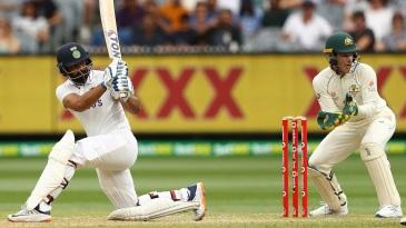 Hanuma Vihari plays a sweep
