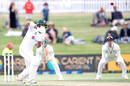 Shan Masood keeps his eyes on the ball, New Zealand vs Pakistan, 1st Test, Mount Maunganui, 2nd day, December 27, 2020