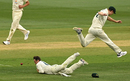 Travis Head was dumbstruck after the ball popped out of his grasp off the last ball of the day Australia v India, 2nd Test, Melbourne, 2nd day, December 27, 2020