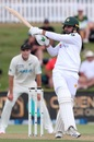 Faheem Ashraf takes on the short ball, New Zealand vs Pakistan, 1st Test, Bay Oval, Day 3, December 28 2020