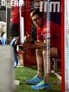 Jonty Rhodes gives the camera a thumbs up, Kings XI Punjab vs Sunrisers Hyderabad, IPL 2020, Dubai, October 24, 2020