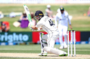 Tom Latham plays a square drive, New Zealand vs Pakistan, 1st Test, Mount Maunganui, Day 4, December 29 2020