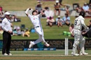 Naseem Shah gets into his delivery stride, New Zealand vs Pakistan, 1st Test, Mount Maunganui, Day 4, December 29 2020