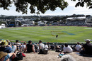 A view of the Basin Reserve from the grass banks, New Zealand v India, 1st Test, Wellington, 2nd day, February 22, 2020