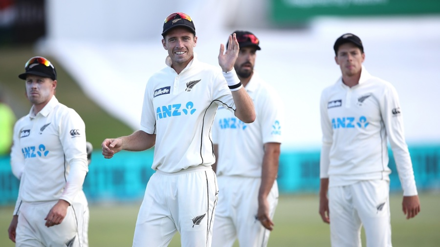 When Tim Southee led his side off the field, you could see the slight discomfort at being the focus of attention