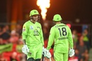 Alex Hales and Usman Khawaja's attacking knocks secured a win for the Sydney Thunder, Melbourne Renegades vs Sydney Thunder, BBL, Metricon Stadium, January 1, 2021