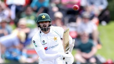 Azhar Ali made an enterprising half-century on the opening day