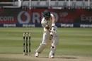 Aiden Markram gets forward, South Africa vs Sri Lanka, 2nd Test, 1st day, Johannesburg, January 3, 2021