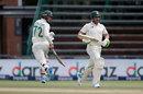 Rassie van der Dussen and Dean Elgar extend their second-wicket stand, South Africa vs Sri Lanka, 2nd Test, 2nd day, Johannesburg, January 4, 2021