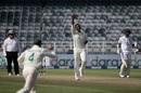 Lungi Ngidi celebrates, South Africa vs Sri Lanka, 2nd Test, 2nd day, Johannesburg, January 4, 2021