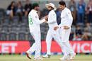 Mohammad Abbas broke the big fourth-wicket partnership, New Zealand v Pakistan, 2nd Test, Christchurch, 3rd day, January 5, 2021