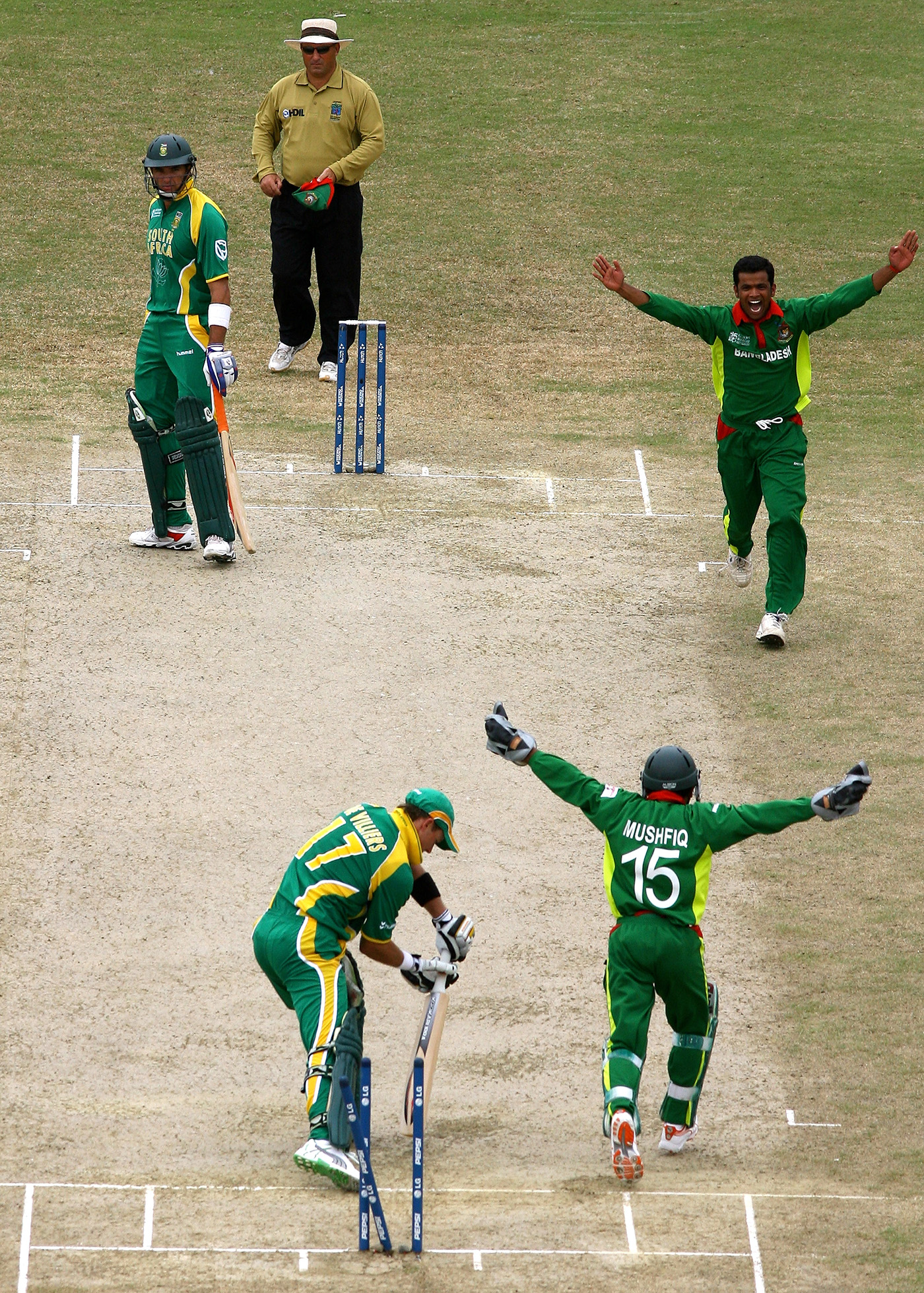 Like Rafique, Abdur Razzak also started out as a fast bowler, but a back injury forced him to turn to spin. He went on to become the first Bangladesh bowler to take 200 wickets in ODIs