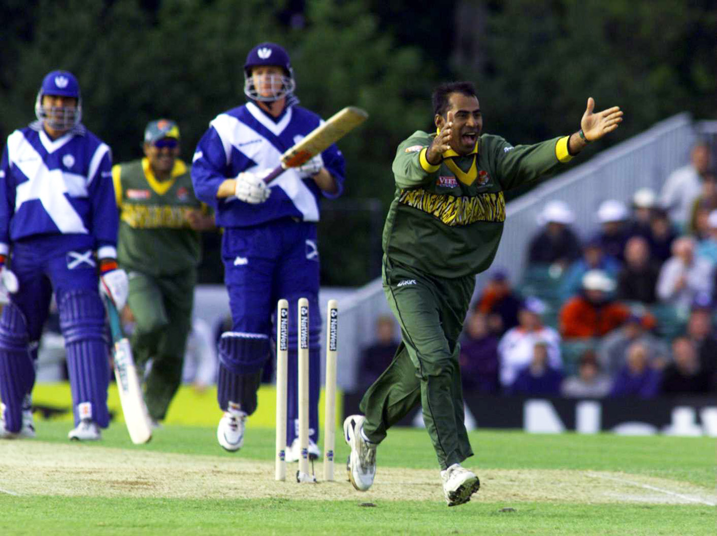 Enamul Haque Moni was the first left-arm spinner to play for Bangladesh. He went on to become an international umpire after retirement