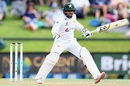 Abid Ali reacts after playing a shot, New Zealand vs Pakistan, 2nd Test, Christchurch, 4th day, January 6, 2021