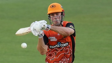 Mitchell Marsh led the Scorchers batting effort with a 27-ball 57*