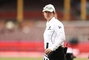 Claire Polosak became the first female match official in a men's Test match as she stood in as the fourth/reserve umpire at SCG, Australia vs India, 3rd Test, Sydney, 1st day, January 7, 2021