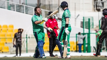 Paul Stirling made his 10th ODI hundred