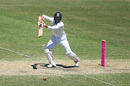 Ravindra Jadeja drives into the covers, Australia vs India, 3rd Test, Sydney, 3rd day, January 9, 2021