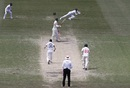 Wriddhiman Saha tumbles to his left to catch Marnus Labuschagne off Navdeep Saini, Australia vs India, 3rd Test, Sydney, 4th day, January 10, 2021