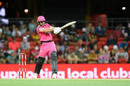 Dan Christian swings one into the leg side, Sydney Sixers vs Brisbane Heat, Carrara, Big Bash League, January 10, 2021