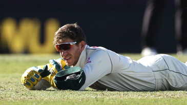 Tim Paine had to pick himself up after dropping Hanuma Vihari late on day five