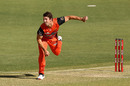 Mitchell Marsh was subbed off due to a side injury, Perth Scorchers vs Hobart Hurricanes, Big Bash League, January 12, 2021