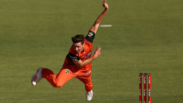 Jhye Richardson is the BBL's leading wicket-taker this season