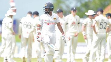 Lahiru Thirimanne fell early to Stuart Broad