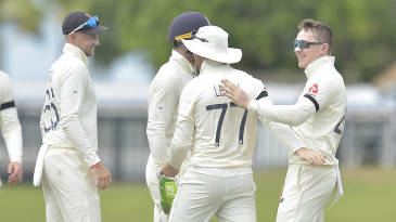 England celebrate Dom Bess' breakthrough