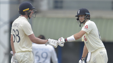Joe Root and Dan Lawrence added 173 for the fourth wicket