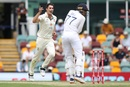 Pat Cummins dismissed Shubman Gill with the second ball of his spell, Australia vs India, 4th Test, Brisbane, 2nd day, January 16, 2021
