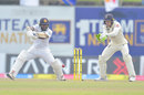 Kusal Perera cuts into the covers, Sri Lanka v England, 1st Test, Galle, 3rd day, January 16, 2021