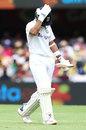 Ajinkya Rahane holds his head after being dismissed, Australia vs India, 4th Test, Brisbane, 3rd day, January 17, 2021