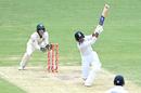 Mayank Agarwal launches Nathan Lyon for a big six, Australia vs India, 4th Test, Brisbane, 3rd day, January 17, 2021