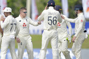 Dom Bess claimed the wicket of Sri Lanka's nightwatchman, Sri Lanka v England, 1st Test, Galle, 4th day, January 17, 2021