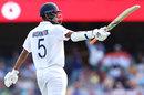 Washington Sundar celebrates his half-century, Australia vs India, 4th Test, Brisbane, 3rd day, January 17, 2021