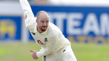 Jack Leach twirls away