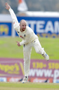Jack Leach twirls away, Sri Lanka v England, 1st Test, Galle, 4th day, January 17, 2021