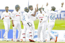 Lasith Embuldeniya took two early wickets in the fourth innings, Sri Lanka v England, 1st Test, Galle, 4th day, January 17, 2021