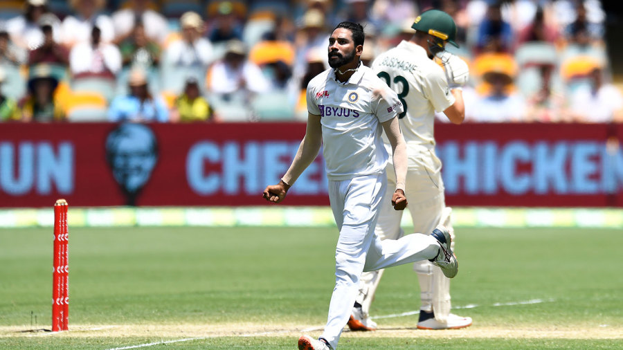 Mohammed Siraj produced a beauty to remove Marnus Labuschagne