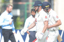 Jonny Bairstow and Dan Lawrence resume on the final morning, Sri Lanka v England, 1st Test, Galle, 5th day, January 18, 2021